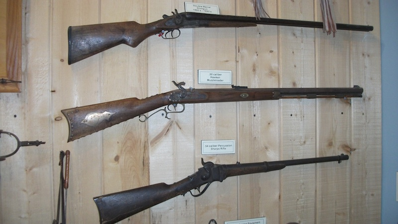 Early shotguns and rifles