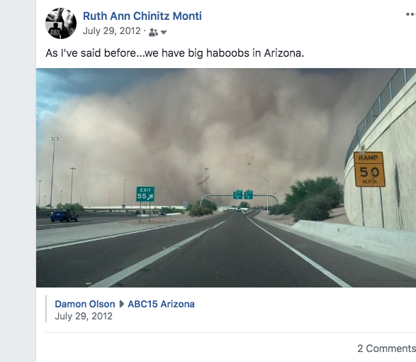 Haboob or dust storm