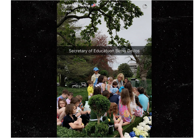 The White House needs Grammarly to check its Instagram posts.
