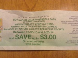 A coupon should be easy to use and not require customers to work for it.